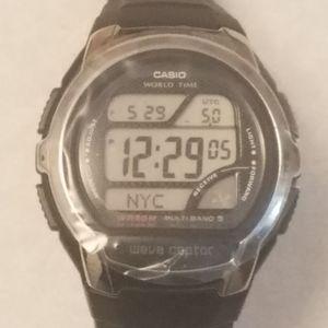 Casio Waveceptor World Time Watch